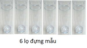 6 lọ đựng mẫu